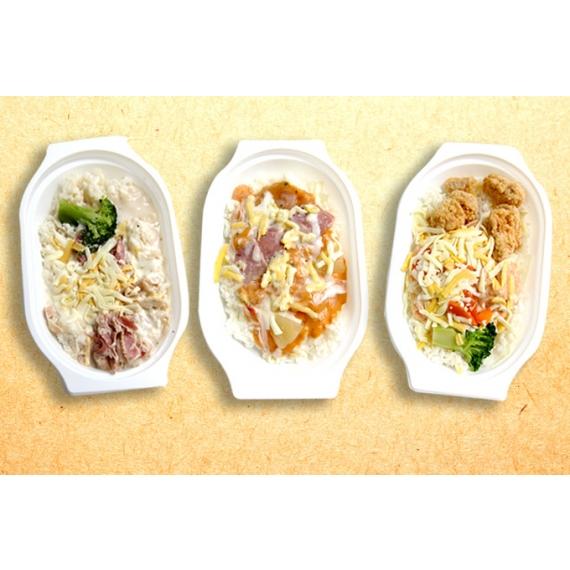 香濃焗烤絲融化在餐點內,每一口都充滿異國風的好滋味!
